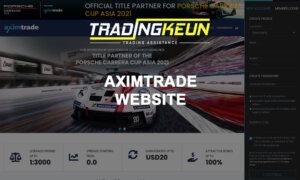 aximtrade website